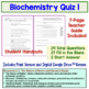 Biochemistry Quizzes Set of 2 Chemistry of Biology Organic Compounds