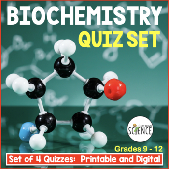 Biochemistry Test Teaching Resources Teachers Pay Teachers