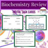 Biochemistry Review Digital Task Cards