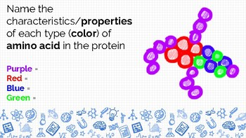 Biochemistry Review Questions Google Slides / Powerpoint - GAME STYLE