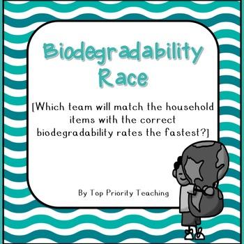 Biodegradability Race