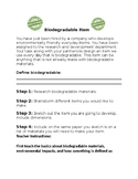 Biodegradable Item Activity