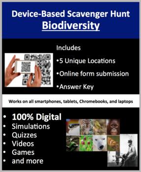 Biodiversity – A Digital Scavenger Hunt Activity