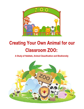 Science: Create Your Own Zoo Animal (Biodiversity Assignment )