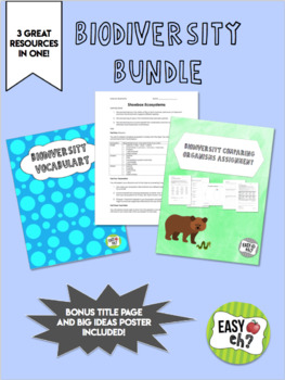 Shoebox Ecosystems Worksheets & Teaching Resources | TpT