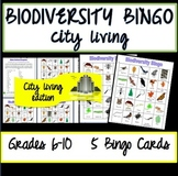 Biodiversity Bingo- City Living Edition