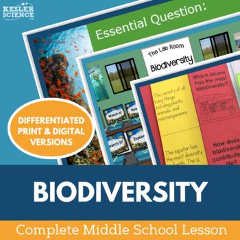 Biodiversity Complete 5E Lesson Plan