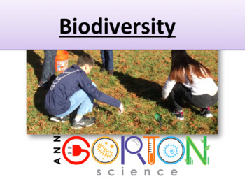Biodiversity Ecology - go outside to learn!