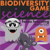 Halloween Science Game Teaching Biodiversity