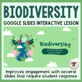 Biodiversity Google Slides Interactive Lesson