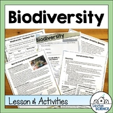 Biodiversity Lesson and Lab - Invasive Species Activity