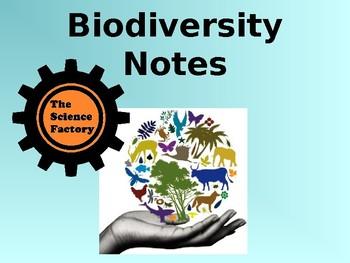 Biodiversity Notes PowerPoint