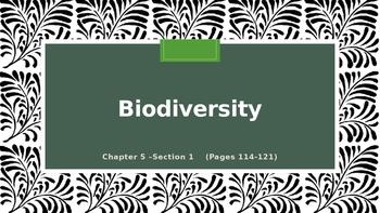 Biodiversity Power Point Lesson