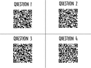 Biodiversity QR Code Hunt (Content Review or Notebook Quiz)