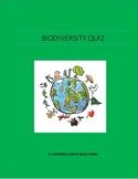 Biodiversity Quiz