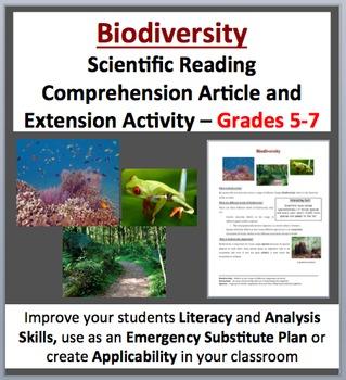 Biodiversity - Science Reading Article - Grades 5-7