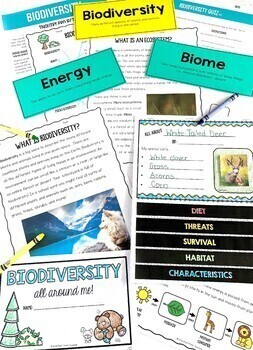 Biodiversity Unit, Inquiry and Project-Based Learning