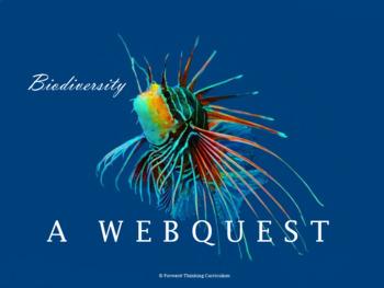 Biodiversity: Webquest with Worksheet