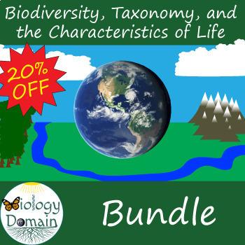 Biodiversity and Classification Bundle