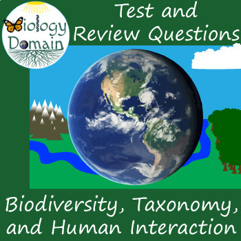 Biodiversity and Classification: Test, Review Questions, and Answer Keys