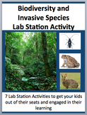 Biodiversity and Invasive Species - 7 Engaging Lab Station