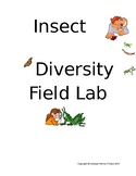 Biodiversity of Insects Field Lab *Editable