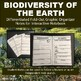 Biodiversity of the Earth Graphic Organizer Guided Notes for INB