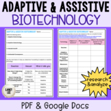 Bioengineering - Adaptive and Assistive Practice with Inte