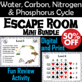 Biogeochemical Cycles Activity Escape Room: Water, Carbon, Nitrogen, Phosphorus