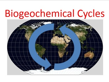 Biogeochemical Cycles PowerPoint