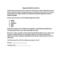 Biogeochemical Cycles Presentation Assignment with Rubric