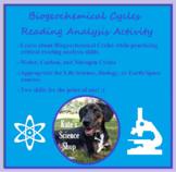 Biogeochemical Cycles - Reading Analysis Activity