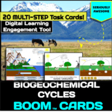 Biogeochemical/ Nutrient Cycle Boom Cards (Carbon, Water,