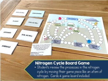 Biogeochemical/Nutrient Cycling: Nitrogen, Carbon, & Phosphorous Cycles