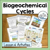 Biogeochemical/Nutrient Cycling: Nitrogen, Carbon, & Phosp