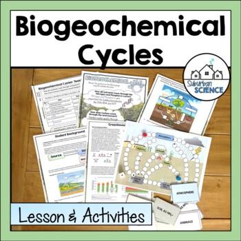 Biogeochemical/Nutrient Cycling: Nitrogen, Carbon, & Phosp