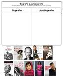 Biografia/Autobiografia Categorizancion