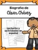 Biografía de César Chávez / Cesar Chavez Biography in Spanish