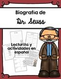 Biografía de Dr. Seuss / Dr. Seuss Biography Spanish