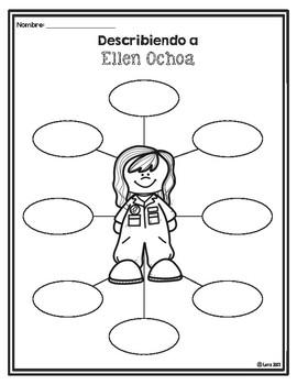 Biografía de Ella Ochoa / Ellen Ochoa Biography in Spanish