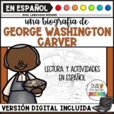 Biografía de George Washington Carver / George W Carver Biography in Spanish