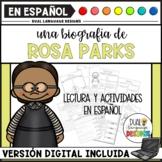 Biografía de Rosa Parks / Rosa Parks Biography in Spanish