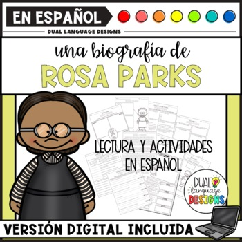 Biografía de Rosa Parks / Rosa Parks Biography in Spanish