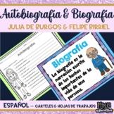 Biografía y Autobiografía | Autobiography and Biography (SPANISH)