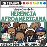 Biografías de la historia afroamericana / Black History Month Biographies Bundle