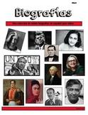 Spanish Reading Passages- Biografias (A BEST seller!)
