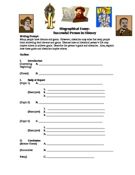 Biographical Essay: Successful Person in History