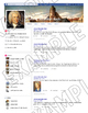 """Biographical """"Facebook"""" Style Project Template"""