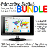 Biography Projects Digital Interactive Research BUNDLE