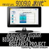 Biographical Research Project Digital Interactive